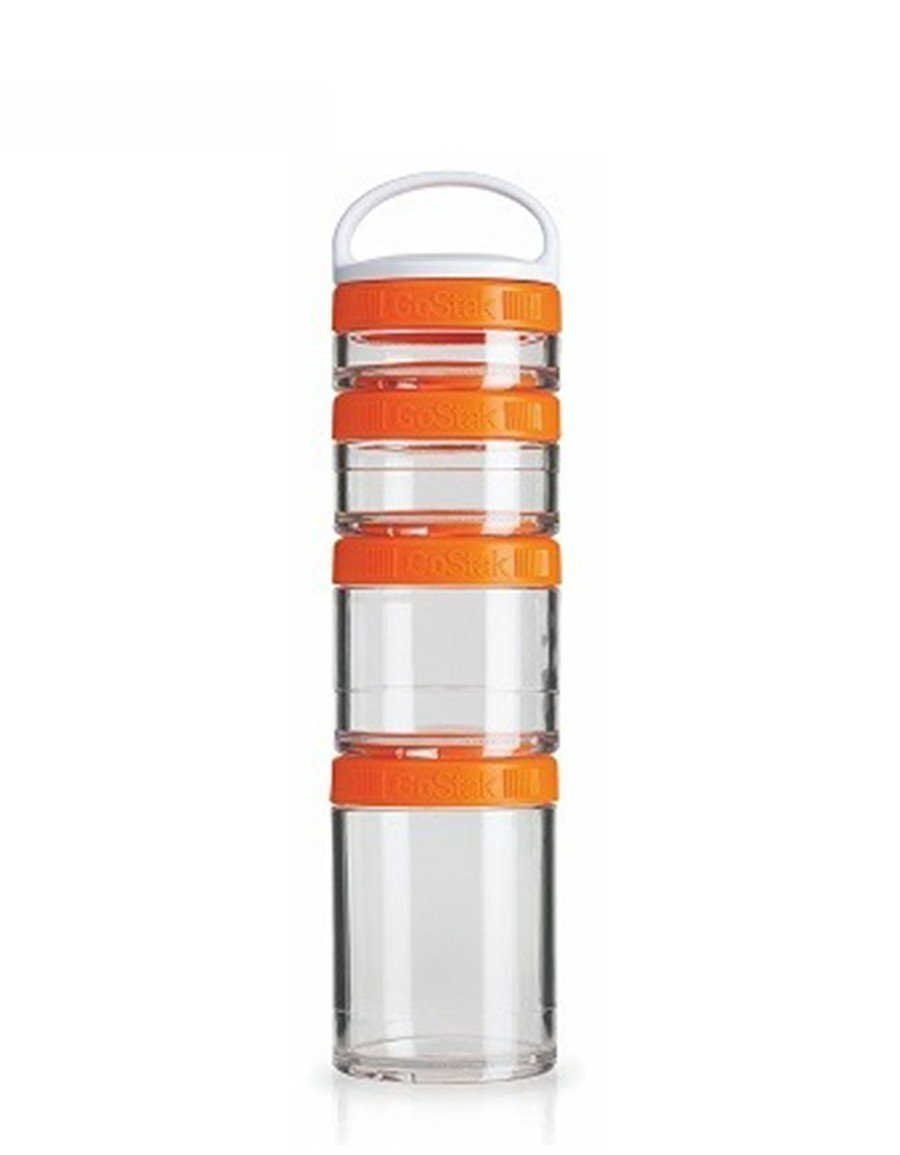 Blender Bottle Gostak Saklama Kabı Turuncu 350ml