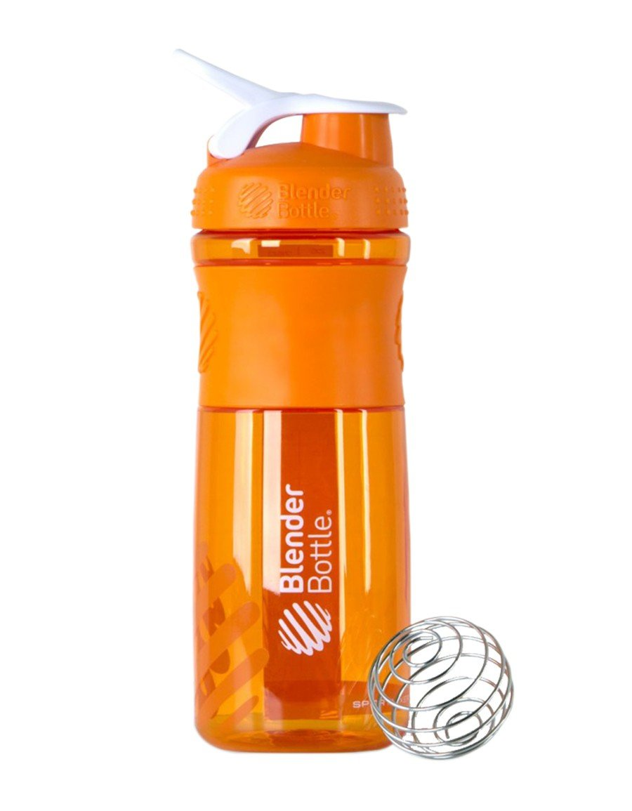 Blender Bottle Sportmixer Shaker Turuncu-Beyaz 760ml