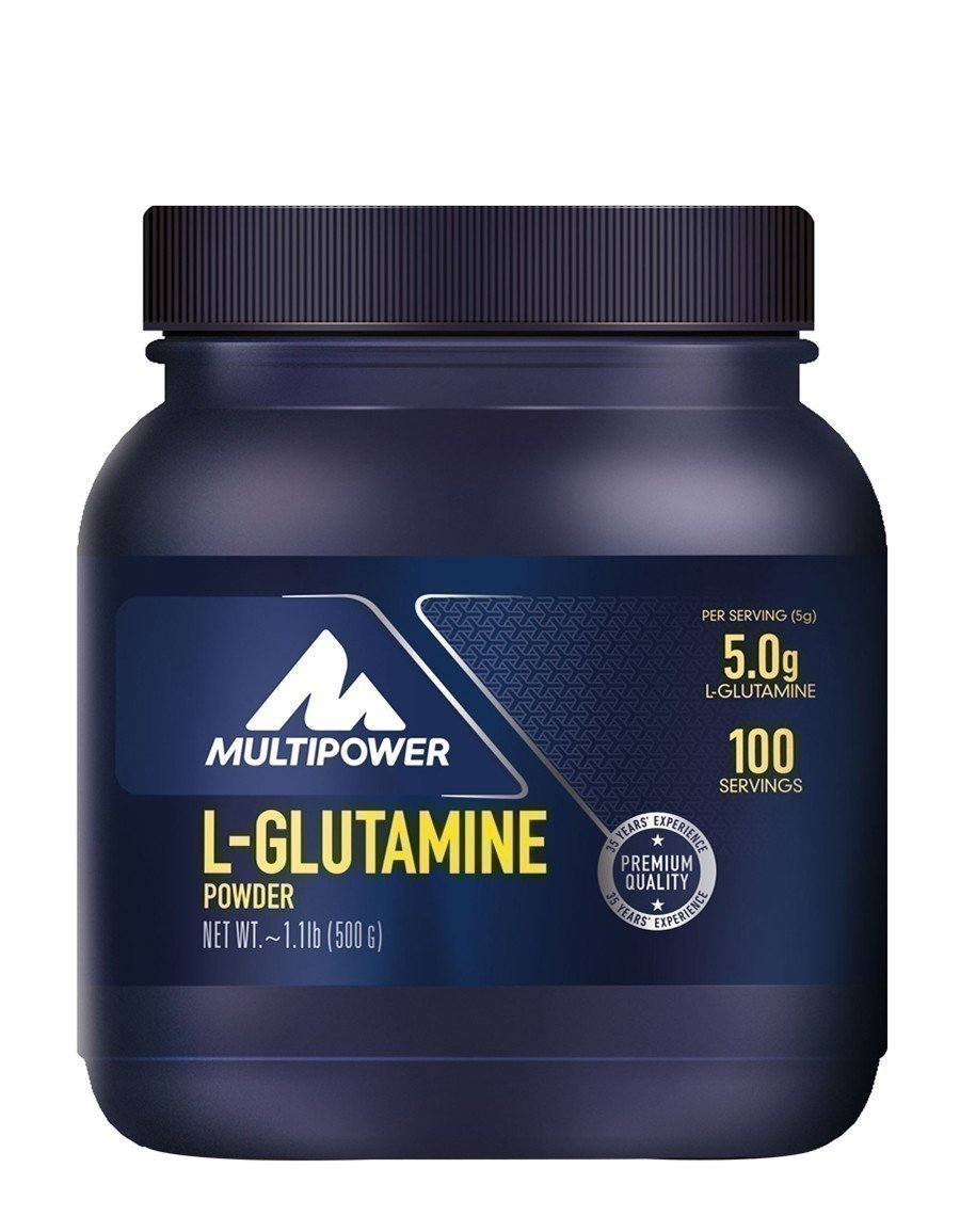 Multipower L-Glutamine Powder 500gr
