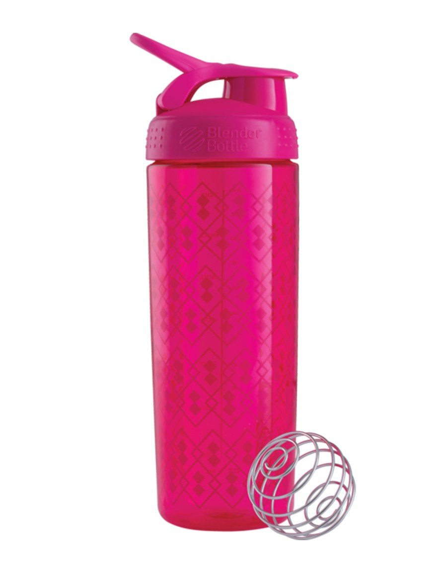 Blender Bottle Signature Seri Shaker Pembe 700ml