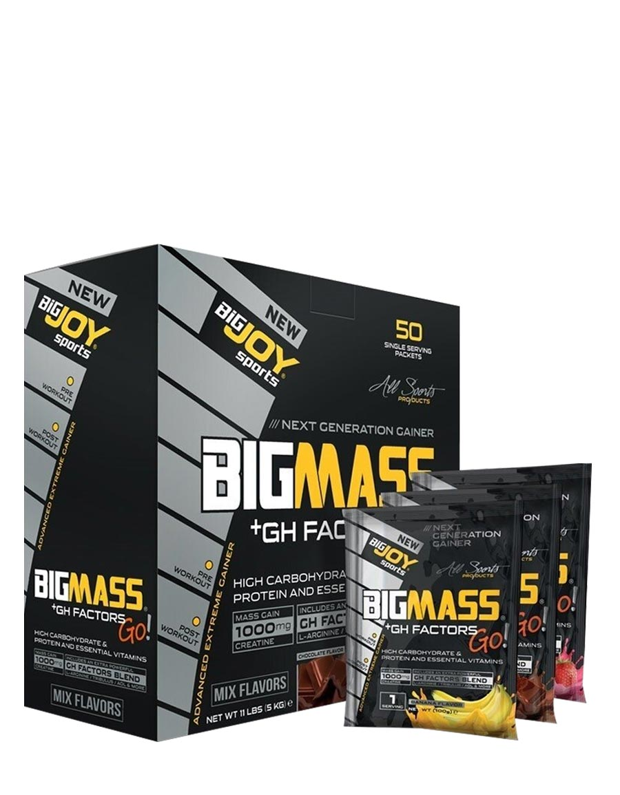 BigJoy Big Mass+GH Factors Go 50 Paket - 5000gr