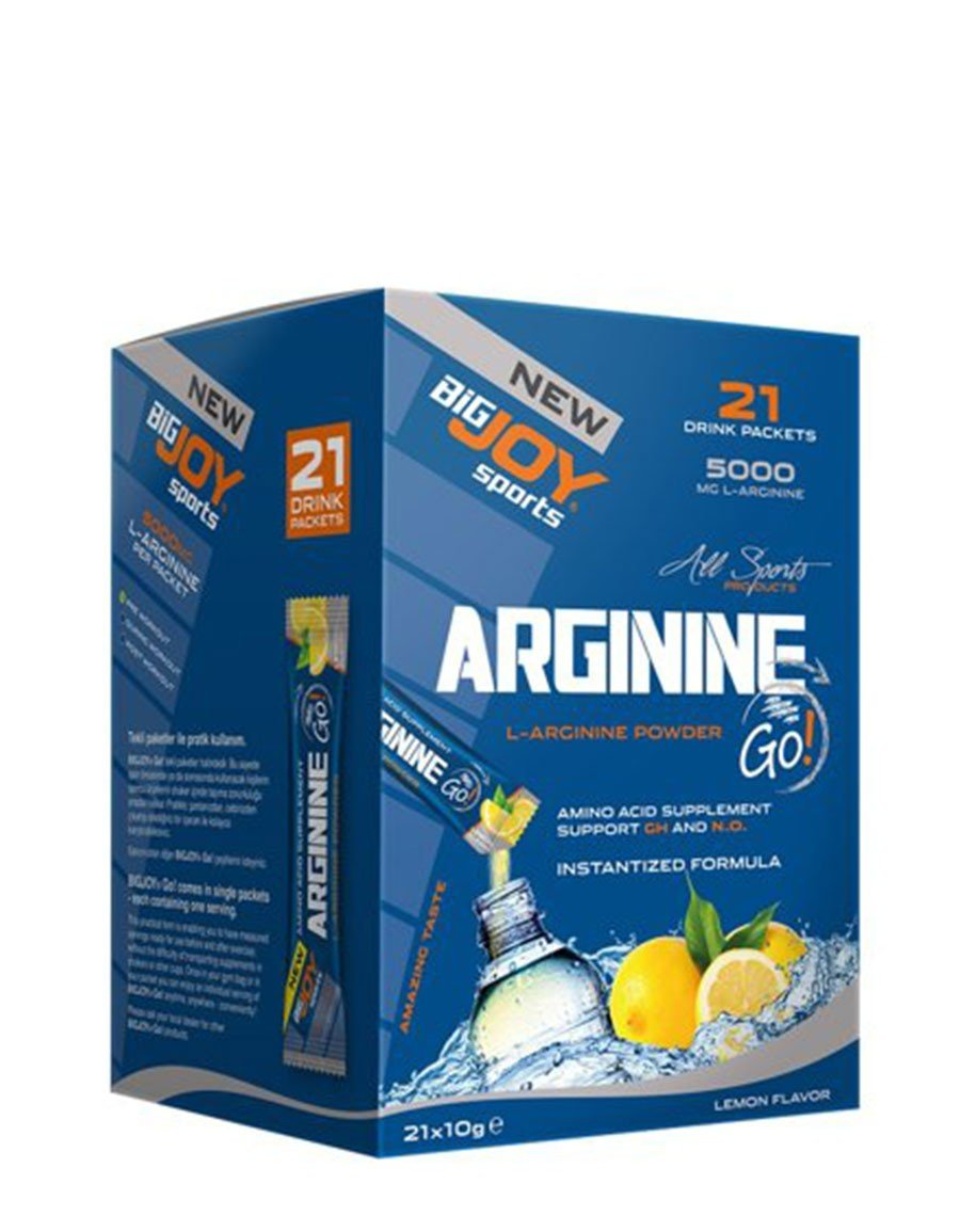 BigJoy Arginine Go! 21 Drink Packets