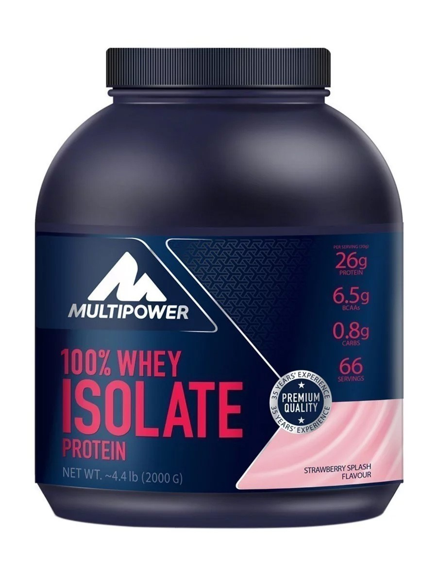 Multipower Whey Isolate 2000gr