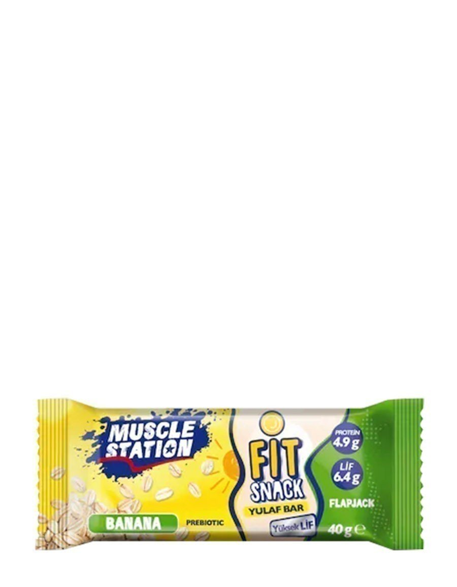 Musclestation Fit Snack Yulaf Bar 40gr