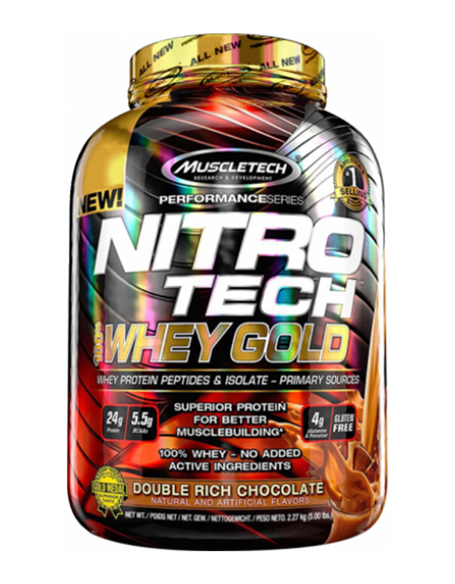 Muscletech Performance Series Nitro Tech Whey Gold 2270gr