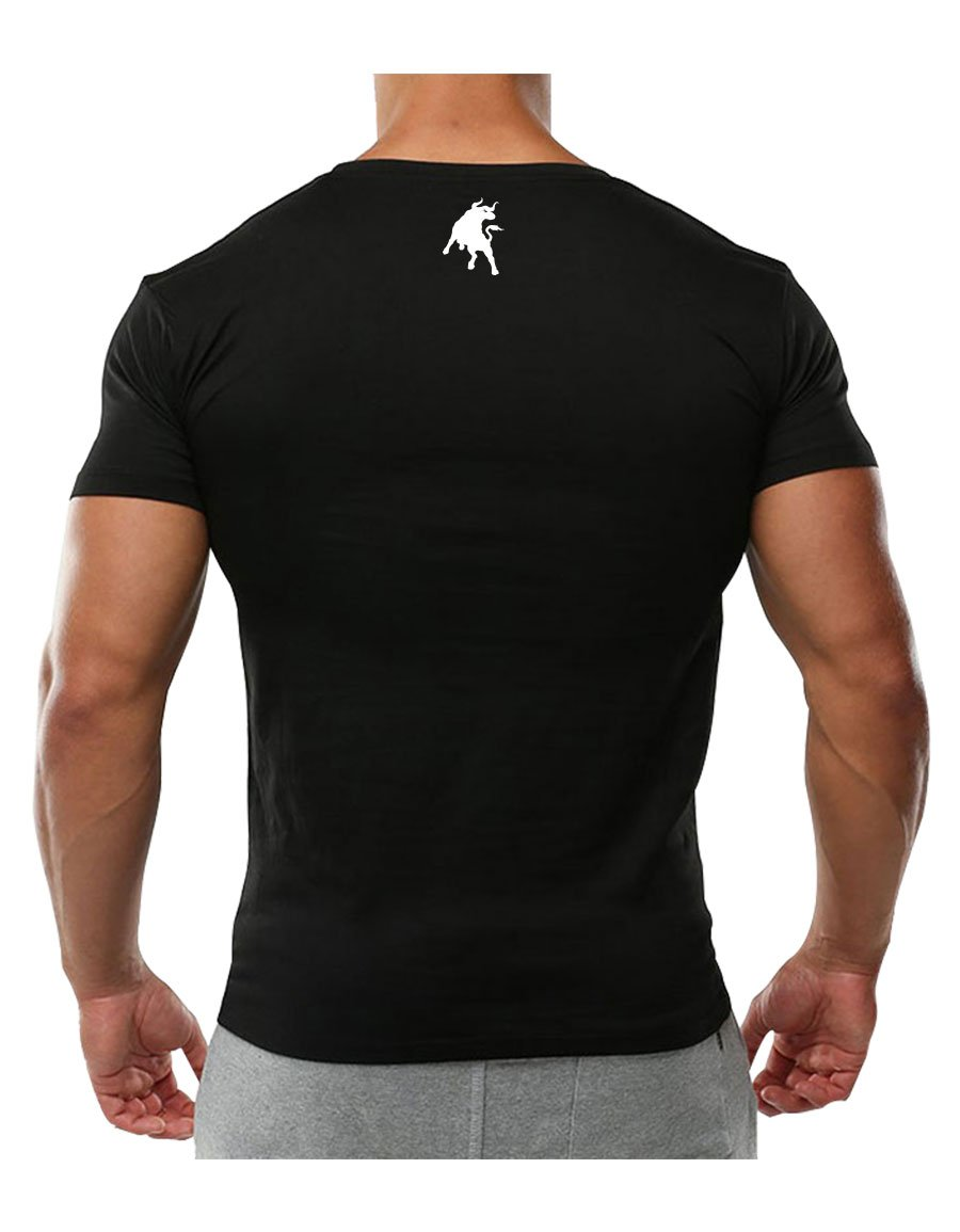 Raging Bull T-Shirt Everyday Siyah (Dijital Baskı)