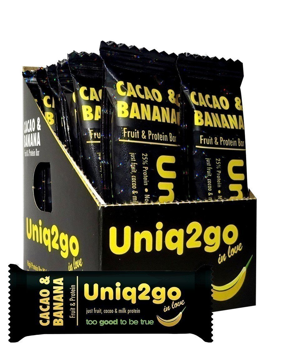 Uniq2go In Love Kakaolu Muzlu Bar 32gr - 12 Adet