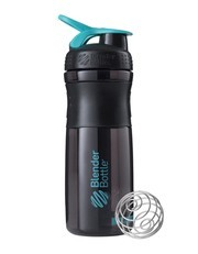 Blender Bottle Sportmixer Siyah-Teal Mavisi 760ml