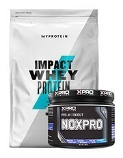 MyProtein Impact Whey Protein Tozu 2500gr + Xpro Noxpro Pre-Workout 300gr + Shaker