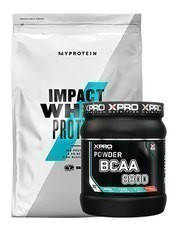 MyProtein Impact Whey Protein Tozu 2500gr + Xpro Bcaa 8800 - 429gr + Shaker