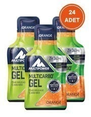 Multipower Multicarbo Gel 24 Adet - 40gr