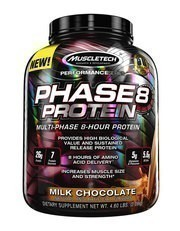 Muscletech Performance Series Phase 8 Protein Tozu 2100gr