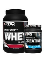 Xpro Whey Concentrate Protein Tozu 1000gr + Xpro Creatine 500 gr + Shaker