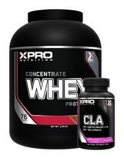 Xpro Whey Concentrate Protein Tozu 2280gr + Xpro Cla 90 Kapsül + Shaker