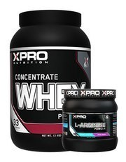 Xpro Whey Concentrate Protein Tozu 1000gr + Xpro L-Arginine Powder 300gr + Shaker