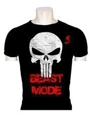 Raging Bull Beast Mode Baskılı T-Shirt