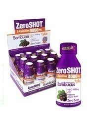 Zero Shot L-Carnitine 3000mg Plus Sambucus 12 Ampul -  60ml