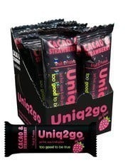 Uniq2go In Love Kakaolu Çilekli Bar 32gr - 12 Adet