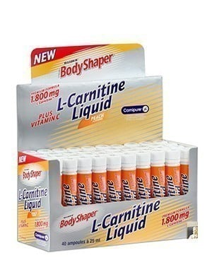 Weider Body Shaper L-Carnitine 40 Ampul